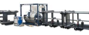 Aluminum Anodizing:  instrumentation pods for the FOCUS 3